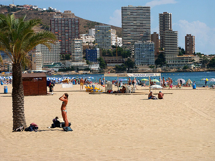 Hotels Near Levante Beach Benidorm