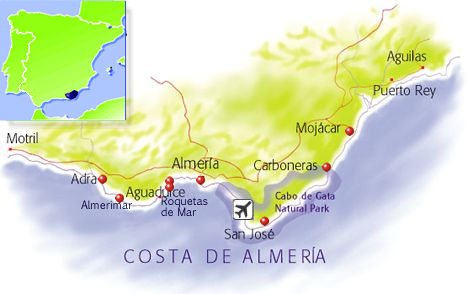 How To Get There Travelling To Costa De Almeria
