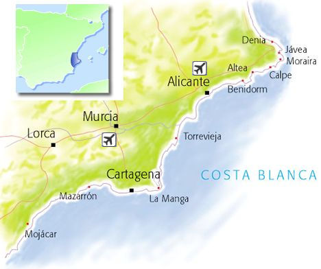 Costa Blanca holidays Travel guide and holidays in Costa Blanca