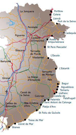 COSTA BRAVA Travel guide holidays in Costa Brava Spain