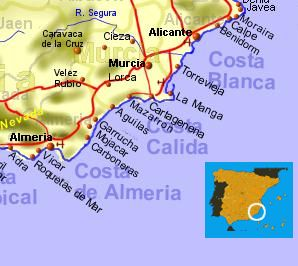 Travelling To Costa Calida How To Get There