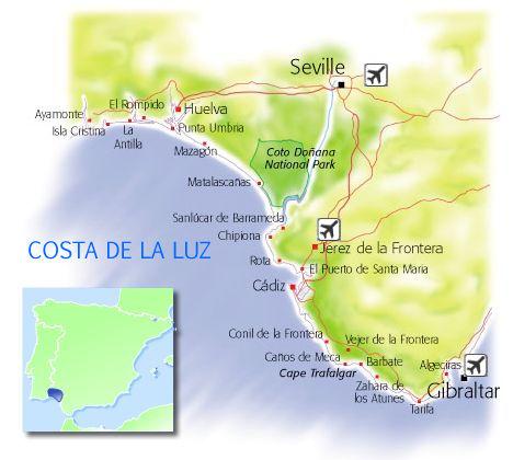 Places to Visit & see in Costa de la Luz - Costa de la Luz Sightseeing