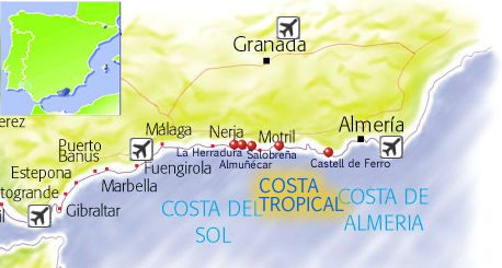 Costa Tropical Travel guide holidays in Costa Tropical