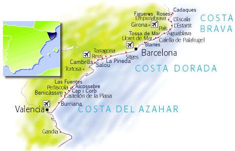 Costa Dorada Travel guide holidays in Costa Dorada