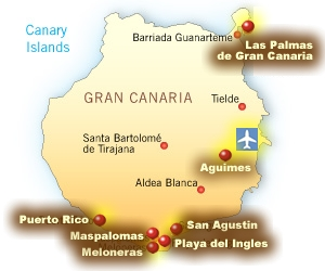 GRAN CANARIA Travel guide holidays to Gran Canaria Spain