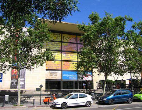 Ivam Institute Of Modern Art In Valencia Spain