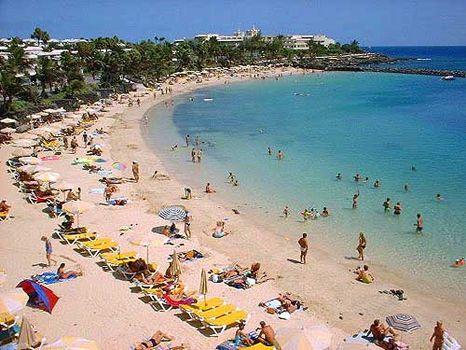 About Playa Blanca In Lanzarote Spain