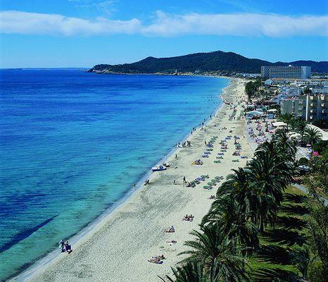 Ibiza Karte Playa D En Bossa.Playa D En Bossa Ibiza