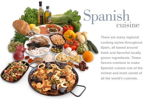 Spanish cuisine food gastronomy of spain for Cuisine 5 ingredients